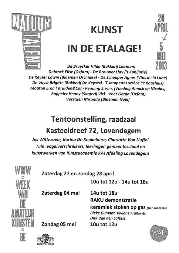 affiche WAK 2013